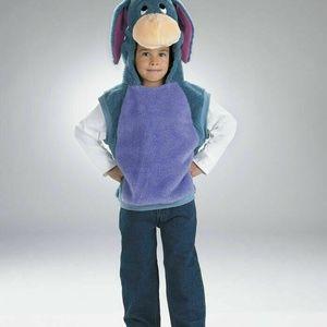 Disney Eeyore Winnie The Pooh Costume Vest 4-6